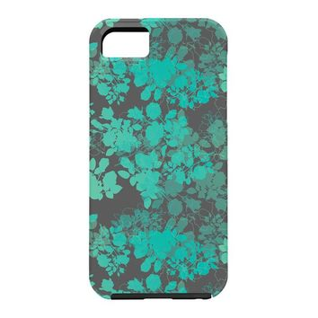 Gabi Audrey Teal Cell Phone Case