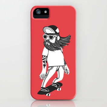 Longbearded iPhone & iPod Case by Lawerta