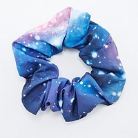 Cosmic Print Scrunchie - Urban Outfitters