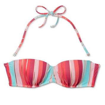 Women's Vacay Light Lift Bandeau Bikini Top - Shade & Shore™ Multi Stripe