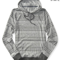 Aeropostale  Free State Long Sleeve Southwest Hooded Tee