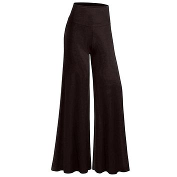 DIDO Women High Waist Bell Bottom Pants s Mulit Color