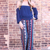 Dazed and Confused Palazzo Pants
