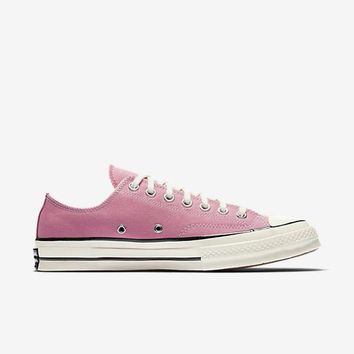 HCXX CONVERSE CHUCK TAYLOR ALL STAR '70 VINTAGE CANVAS LOW TOP - ROSE