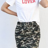 Whatever It Takes Camo Skirt