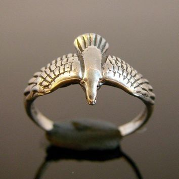 Soaring - Sterling Silver Bird Ring - 141