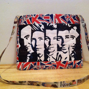 One Direction Duct Tape Purse (Made to Order)