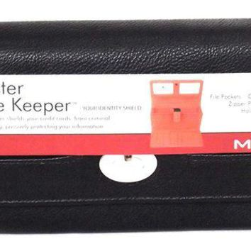 ONETOW Women's Faux Leather MUNDI FAT WALLET Ladies FILE MASTER Organizer One Size