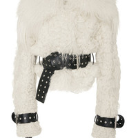 Shearling Bomber with Belts | Moda Operandi