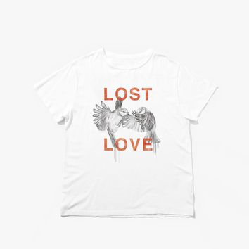 Lost Love Tee in Off-White