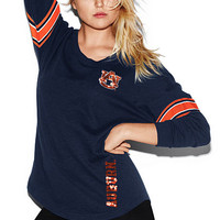 Auburn University Bling V-neck Varsity Crew - PINK - Victoria's Secret
