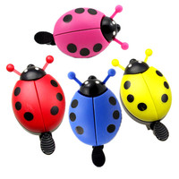 Cute Generic Kid Funny Ladybug Cycling Ride Bike Ring Bell Bicycle Accessories bicicleta  BHU2