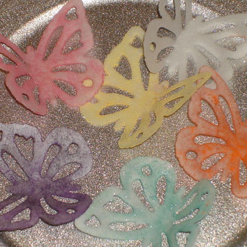 Edible Wafer Paper Butterflies for Cakes, Cookies, cake Pops, Cupcakes and Candy