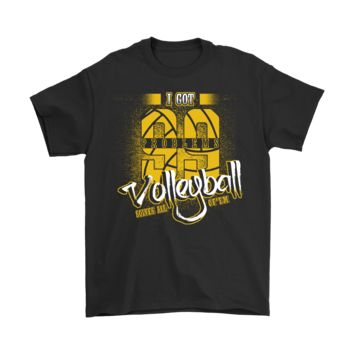 ESBCV3 I Got 99 Problems Volleyball Solves All Of Them Shirts