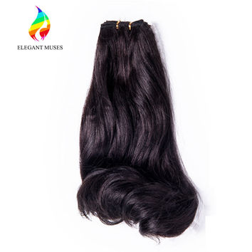 2016 New Hair Style Synthetic Hair Extension Long Natural Body Wave Curly Synthetic Hair Weaving/Extension