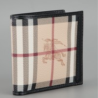Burberry London Haymarket Check Wallet