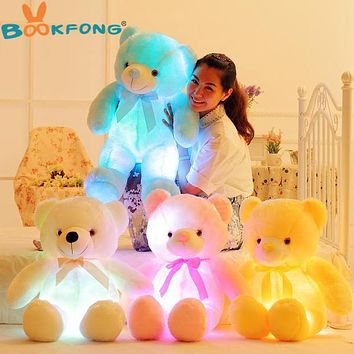 OB LED Light Up Teddy Bear Stuffed Animal
