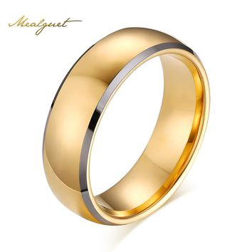 Men's Tungsten Carbide Wedding Bands