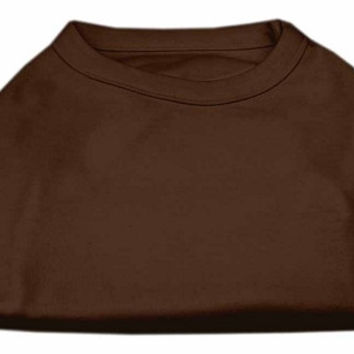 Plain Shirts Brown Med (12)