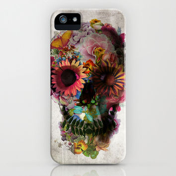 SKULL 2 iPhone & iPod Case by Ali GULEC