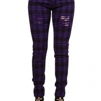 BANNED APPAREL PURPLE MOVE ON UP TROUSERS