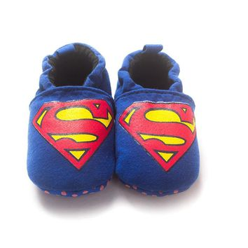 Superman Baby Boy Bebe Moccasin