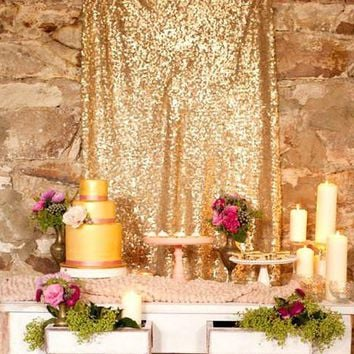 "8ft X 52"" Sequin Backdrop"