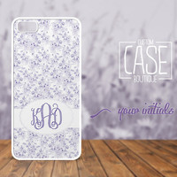 Personalized case for iPhone 5 and iPhone 4 / 4s - Plastic iPhone case - Rubber iPhone case - Monogram iPhone case - CB010
