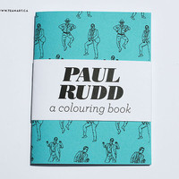 Paul Rudd - A Mini Colouring Book - 4 x 5 in