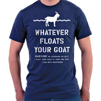 Farm Boy & Farm Girl Men's Farm Boy Float Goat Tee