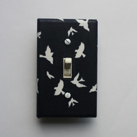 BLue Light Switch Cover