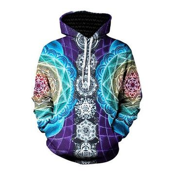 Tribal Colored Hoodie