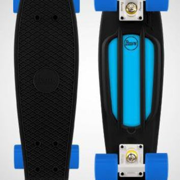 Black and Blue Penny Board