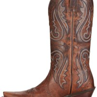 Women's Brown Heritage Western Cowgirl Boots by Ariat - Snip Toe - Boot - Westernwear.com