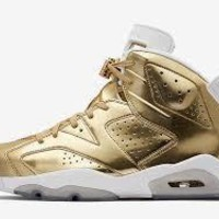AIR JORDAN 6 (GOLD PINNACLE)