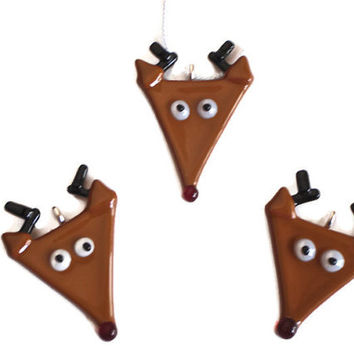 whimsical Christmas decoration - Rudolph Ornament