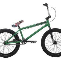 2015 Sunday Am Plus Green Bonus Bmx Bike Freecoaster