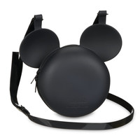 Mickey Mouse Crossbody Bag by Melissa - Black