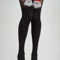 Luxe Round of A-Clause Tights Size OS by Pretty Polly from ModCloth