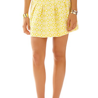Lilly Pulitzer Leila Pleated Mini Skirt