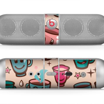 The Smiley Coffee Mugs Skin for the Beats by Dre Pill Bluetooth Speaker