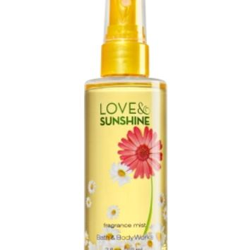 Travel Size Fine Fragrance Mist Love & Sunshine