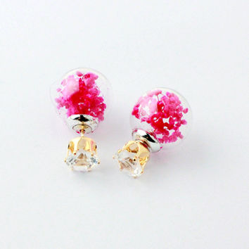 Ladies Strong Character Fashion Geometric Sweets Earrings [4956899972]