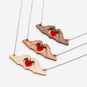 Work of Heart necklace