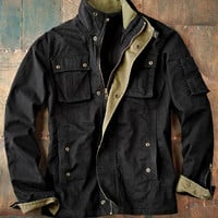 All Cylinders Coat-Carbon 2 Cobalt