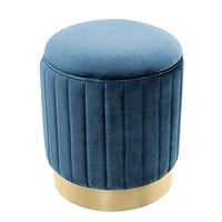 Blue Gold Base Stool | Eichholtz Allegra
