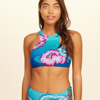 Girls High-Neck Bikini Top | Girls New Arrivals | HollisterCo.com