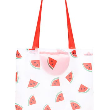 Watermelon Graphic Tote - New Arrivals Accessories - 1000223362 - Forever 21 EU English