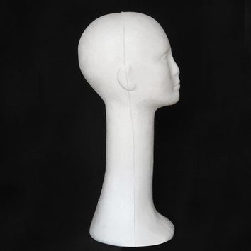 Long Neck Wig Stand