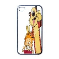 Calvin and hobbes iPhone 4 / 4S Case Cover Gift idea